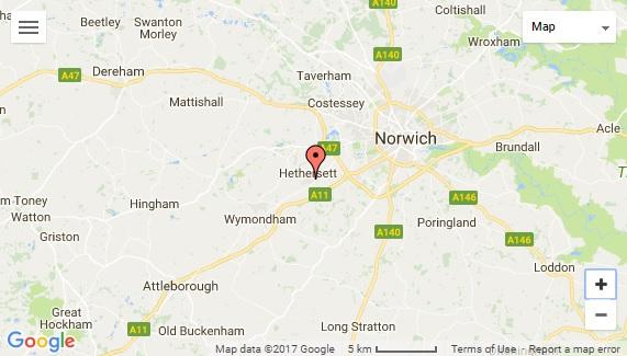 Norfolk Map