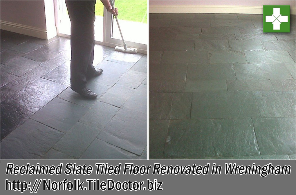Reclaimed Slate Tile Floor Renovation Wreningham