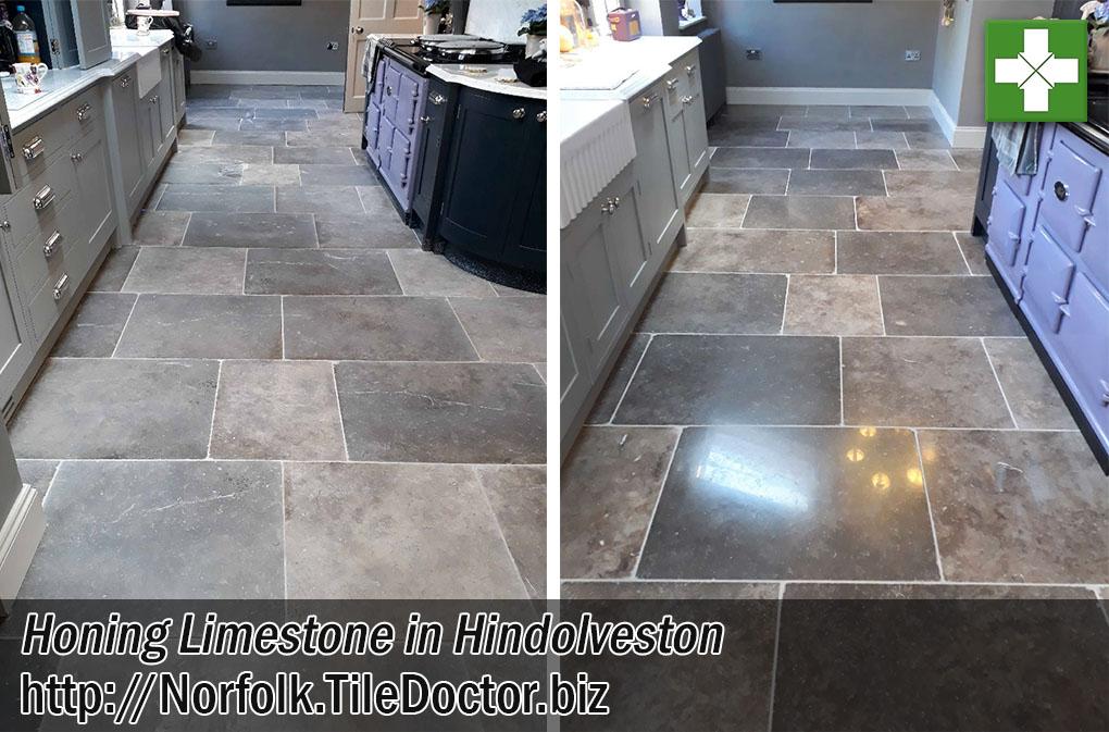 Limestone Tiled Floor Renovation Hindolveston