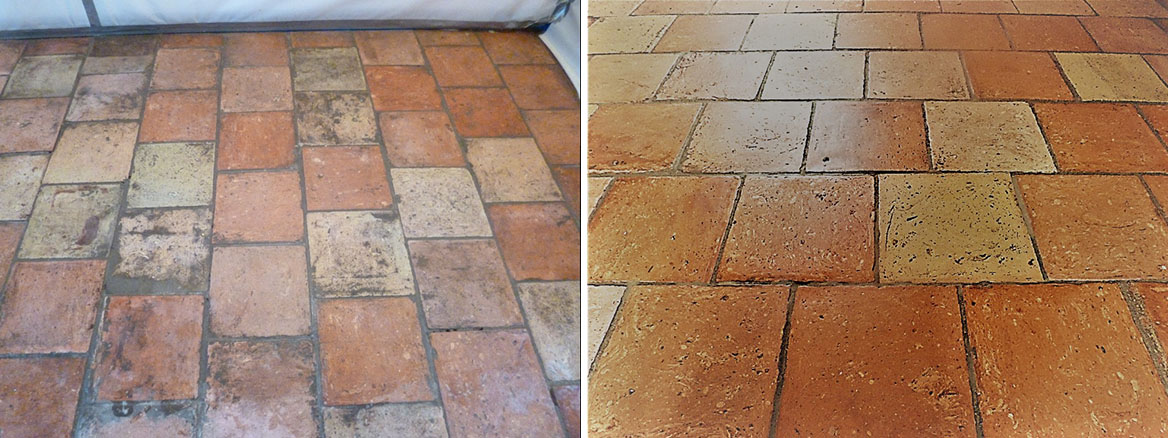 Restoring an 18th Century Norfolk Pamment Tiled Floor in Wymondham
