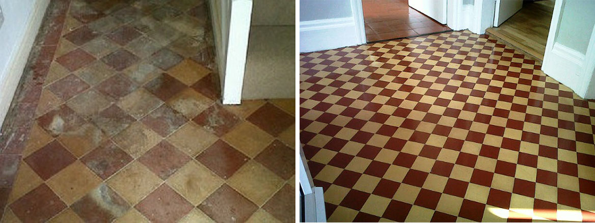 Restoring Neglected Victorian Hallway Tiles in Norwich