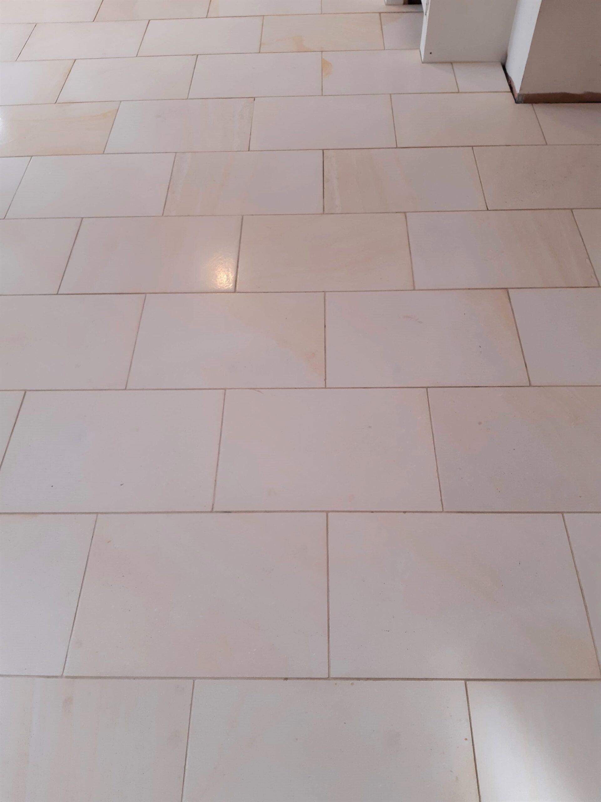 Limestone Floor After Renovation Brockdish